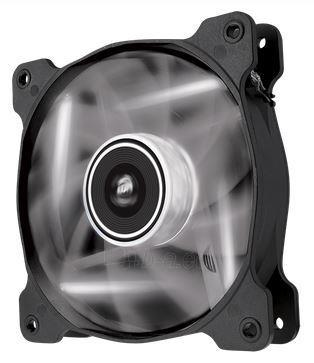Corsair PC case fan AF120 Quiet Edition LED White,120mm, 3pin, 1500 RPM Paveikslėlis 1 iš 2 2502552400128