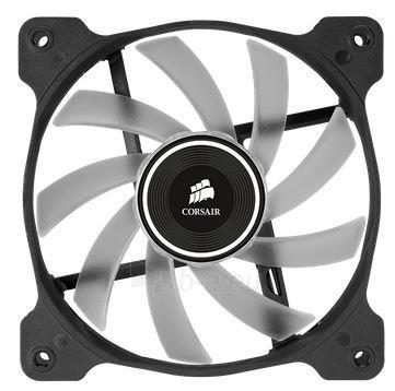 Corsair PC case fan AF120 Quiet Edition LED White,120mm, 3pin, 1500 RPM Paveikslėlis 2 iš 2 2502552400128