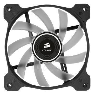 Corsair PC case fan AF120 Quiet Edition LED White,120mm, 3pin, Twin Pack Paveikslėlis 2 iš 2 2502552400129