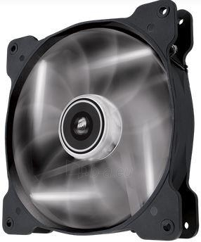 Corsair PC case fan AF140 Quiet Edition LED White,140mm, 3pin,1200 RPM Paveikslėlis 1 iš 2 2502552400231