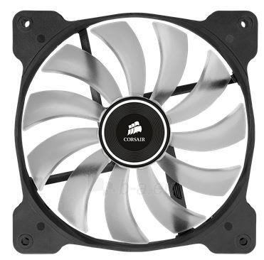 Corsair PC case fan AF140 Quiet Edition LED White,140mm, 3pin,1200 RPM Paveikslėlis 2 iš 2 2502552400231