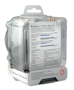 CPU aušintuvas Arctic Freezer 7 Pro Rev.2, s.1366, 1156, 775, AM3, AM2+ Paveikslėlis 6 iš 8 2502552400086