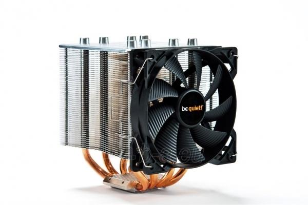 CPU aušintuvas be quiet! Shadow Rock 2 775/1150/1155/1156/2011/AM2/AM2+/AM3... Paveikslėlis 1 iš 5 2502552400093
