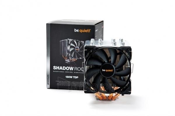 CPU aušintuvas be quiet! Shadow Rock 2 775/1150/1155/1156/2011/AM2/AM2+/AM3... Paveikslėlis 4 iš 5 2502552400093