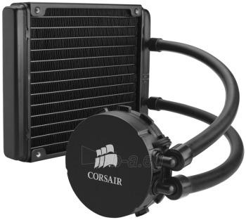 CPU vandens aušinimo sistema Corsair Cooling™ H90, 140mm fan Paveikslėlis 3 iš 3 2502552400227