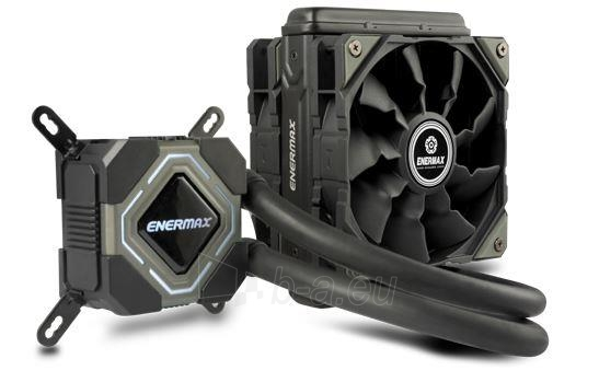 CPU vandens aušinimo sistema Enermax ELC-LMR120S-BS Liqmax II Paveikslėlis 1 iš 1 2502552400226