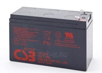 CSB 12 baterijų rinkinys GP1272 F2 12V/7.2Ah Paveikslėlis 1 iš 1 250254300951