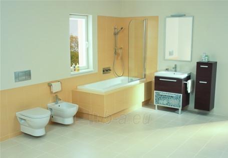 CUBITO Hanging toilet with right runoff Paveikslėlis 2 iš 3 270713000291