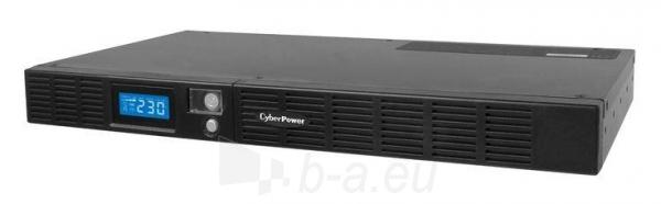 Cyber Power UPS OR600ELCDRM1U 360W Rack 1U (IEC C13) Paveikslėlis 1 iš 2 250254301198
