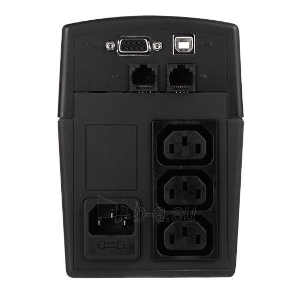 Cyber Power UPS Value1000EILCD 550W (IEC C13) Paveikslėlis 2 iš 2 250254301208