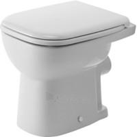 D-Code tualete, tvirtinamas prie grindų, baltas Paveikslėlis 1 iš 1 270713000562