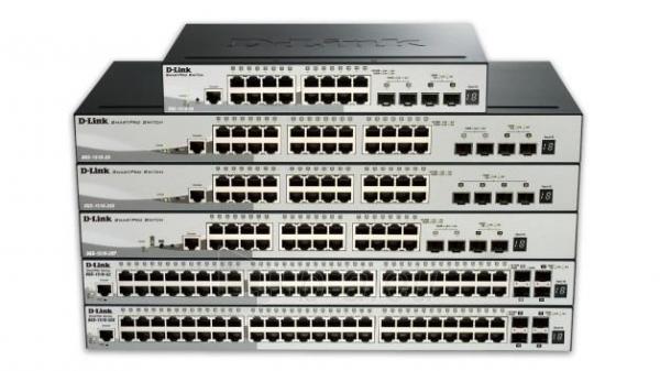 D-Link 20-Port Gigabit Stackable SmartPro Switch 2x SFP and 2x 10G SFP+ ports Paveikslėlis 4 iš 4 250257501299