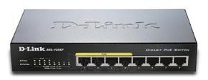 D-Link 8-port 10/100/1000 Desktop Switch w/ 4 PoE Ports Paveikslėlis 1 iš 1 250257501138