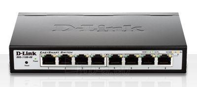D-Link 8-Port 10/100/1000 EasySmart Switch Paveikslėlis 1 iš 1 250257501511