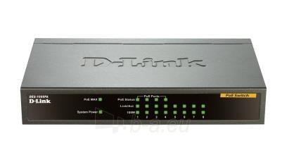 D-Link 8-port 10/100 Desktop Switch, 4 PoE Ports Paveikslėlis 1 iš 1 250257501137