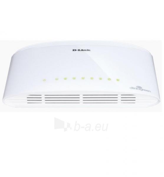 D-Link GigaExpress Switch 8x1000Mbit (RJ45) Paveikslėlis 1 iš 2 250257501148