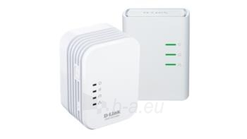 D-Link PowerLine AV 500 Wireless N Mini Extender, QoS, Common Connect Button,WPS Paveikslėlis 1 iš 1 250257600893