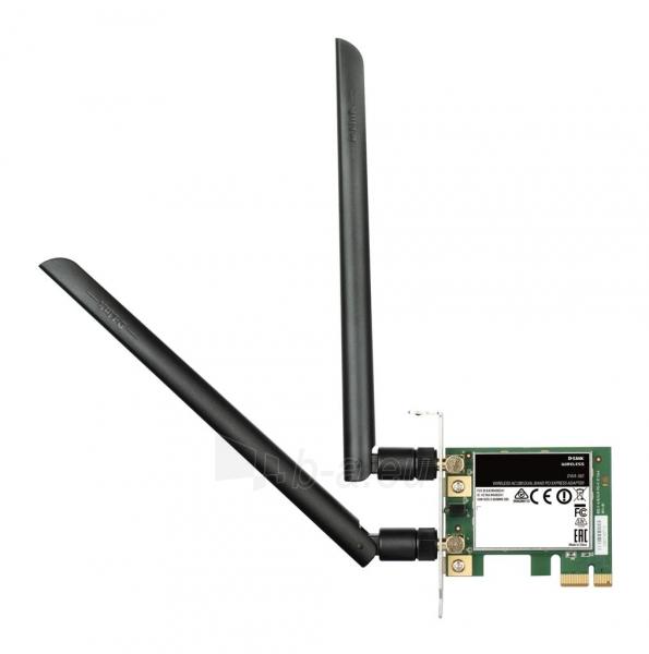 D-Link Wireless AC1200 DualBand PCIe Adapter Paveikslėlis 1 iš 2 310820009107