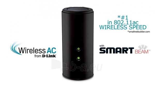 D-Link Wireless AC1750 Dual Band Gigabit Cloud Router USB 3.0 Paveikslėlis 1 iš 3 250257200534