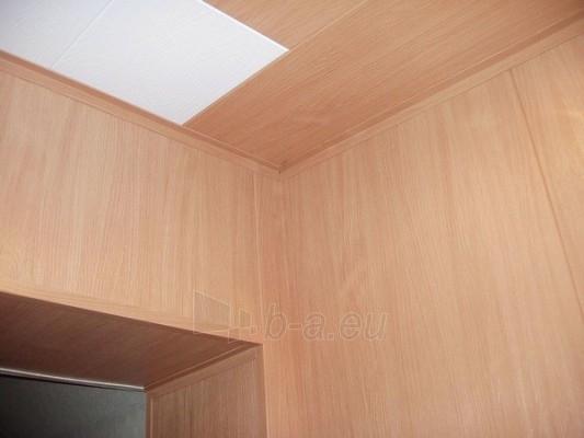Dailylentės ECOTEX luboms, sienoms plotis 285 mm Šviesios, bukas 10-M Paveikslėlis 2 iš 3 237714000116