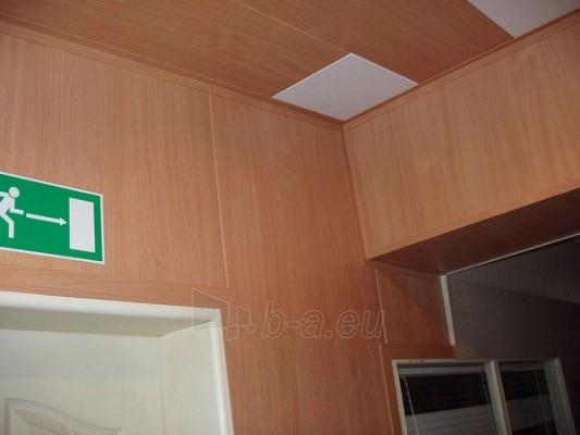 Dailylentės ECOTEX luboms, sienoms plotis 285 mm Šviesios, bukas 10-M Paveikslėlis 3 iš 3 237714000116
