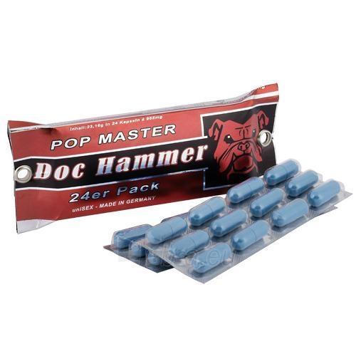 Daktaro Hamerio piliulės Potencija  (24 vnt.) Paveikslėlis 1 iš 2 2514131000181