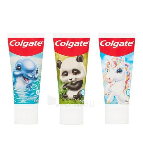 Dantų pasta Colgate for children with fluoride Animal Gang 50 ml Paveikslėlis 1 iš 3 310820208558