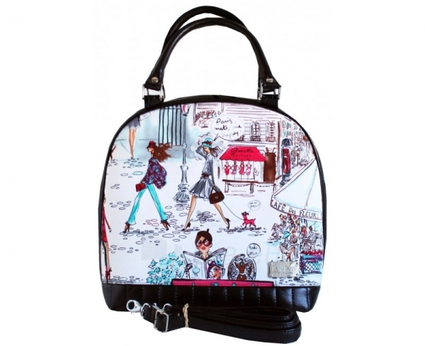 Dara bags Handbag Sweet Angel Bell Big No. 344 I Love Paris Paveikslėlis 1 iš 7 30063200684
