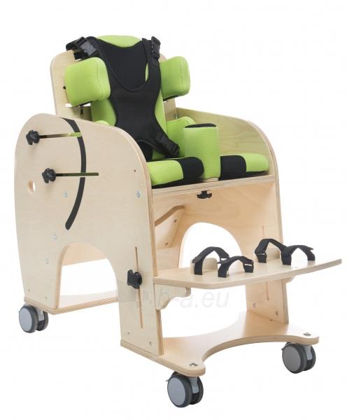 Darbo kėdutė vaikui Drambliukas, dydis 2 Paveikslėlis 1 iš 9 310820165507