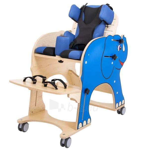 Darbo kėdutė vaikui Drambliukas, dydis 2 Paveikslėlis 2 iš 9 310820165507