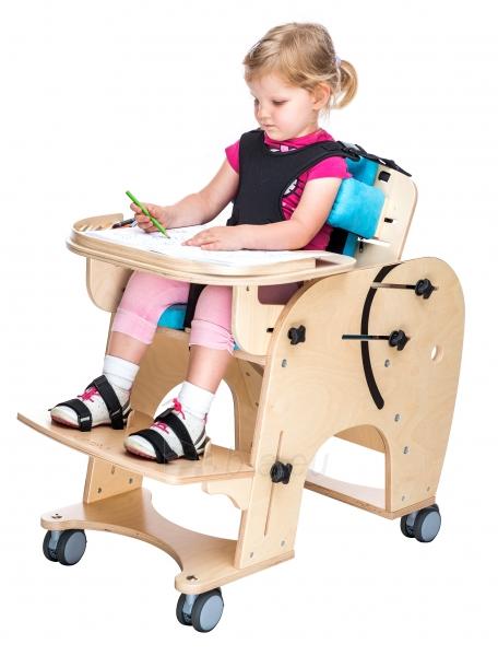 Darbo kėdutė vaikui Drambliukas, dydis 2 Paveikslėlis 4 iš 9 310820165507