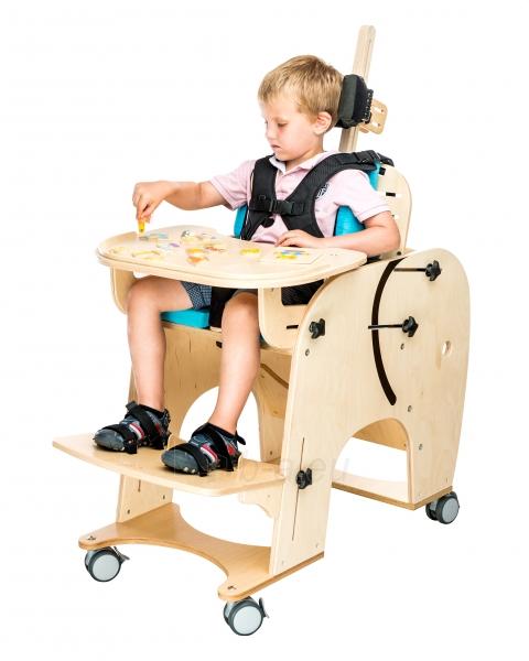 Darbo kėdutė vaikui Drambliukas, dydis 2 Paveikslėlis 5 iš 9 310820165507