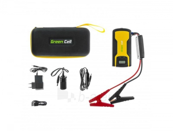 Daugiafunkcinis galios šaltinis - automobilio užvedėjas (paleidėjas) GREEN CELL KICKSTART, 11 AH, LI-POLYMER Paveikslėlis 1 iš 4 310820193751