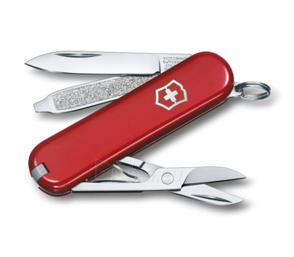 Daugiafunkcinis peilis Classic SD red Victorinox 0.6223 Paveikslėlis 1 iš 1 310820115685