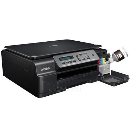 Brother DCP-T300 Multifunction printer / A4 print / Print: 27ppm (mono), 10ppm (color)/ 100 sheet/ Scanner 1200 x 1200dpi / USB/ Black Paveikslėlis 1 iš 2 250253410862
