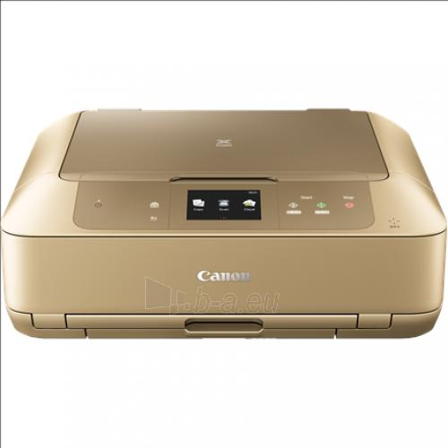 Daugiafunkcinis spausdintuvas Canon PIXMA MG7753 Gold / A4 / Print: mono 15.0 ipm, colour 10.0 ipm / 6 inks / Scan 2400x4800dpi / USB / WiFi Paveikslėlis 1 iš 1 310820003699