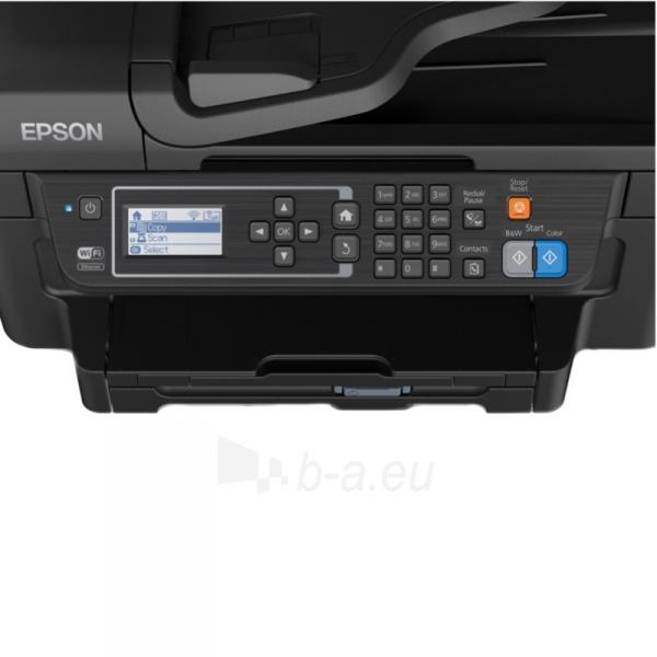 Daugiafunkcinis spausdintuvas Epson L655 Inkjet Multifunction Printer / Print, Scan, Copy, Fax / 4 Ink Cartridges BCYM/ 33ppm mono/ 20ppm color / 1200dpi x 2400dpi / USB / WiFi / Ethernet / Wi-Fi Direct Paveikslėlis 4 iš 6 310820003693