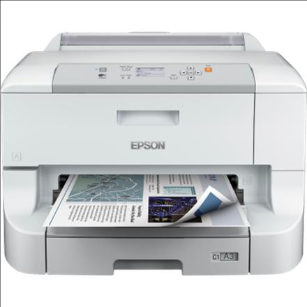 Epson WorkForce Pro WF-8010 DW / A3+ / 4.800 x 1.200 dpi / Wifi / LAN / USB / Duplex Paveikslėlis 1 iš 2 250253410857
