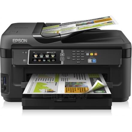 Epson WorkForce WF-7610DWF EEB / A3+ / 4.800 x 2.400 dpi / Wifi / LAN / USB / Duplex / Scan / Fax Paveikslėlis 1 iš 1 250253410865