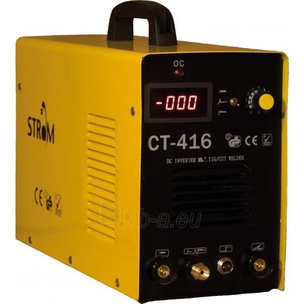 Daugiafunkcinis suvirinimo aparatas Strom PLAZMA CUT-416 Paveikslėlis 1 iš 1 225271000153
