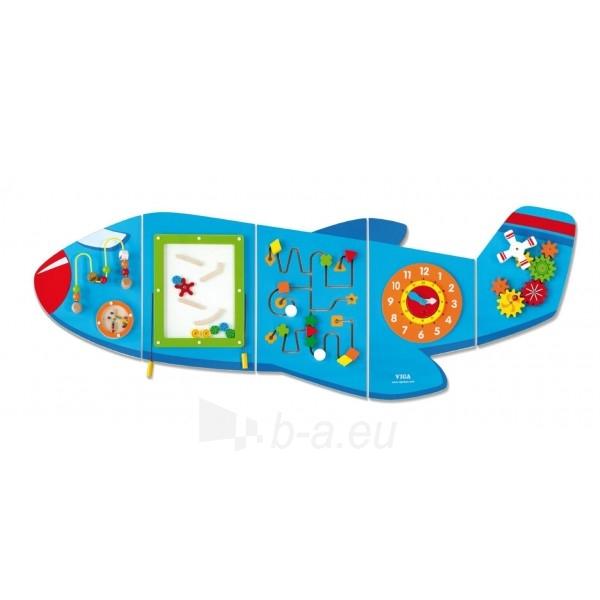 Daugiafunkcis medinis sieninis žaidimas | Lėktuvas | Viga Paveikslėlis 9 iš 10 310820171826