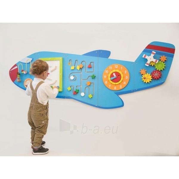 Daugiafunkcis medinis sieninis žaidimas | Lėktuvas | Viga Paveikslėlis 8 iš 10 310820171826