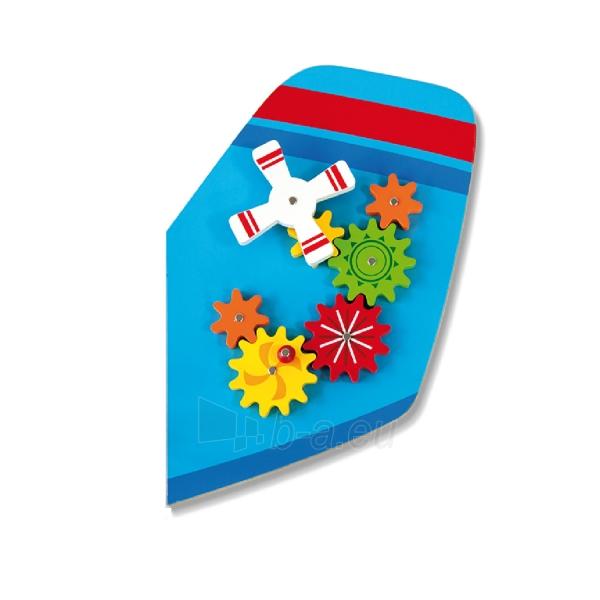 Daugiafunkcis medinis sieninis žaidimas | Lėktuvas | Viga Paveikslėlis 3 iš 10 310820171826