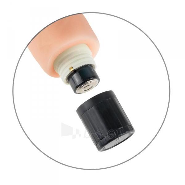 Daugiagreitis vibratorius Real Feel 10 - kūno spalvos . Paveikslėlis 2 iš 3 310820148080