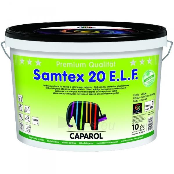 Dažai Caparol SAMTEX 20 ELF 10l Paveikslėlis 1 iš 1 310820016296