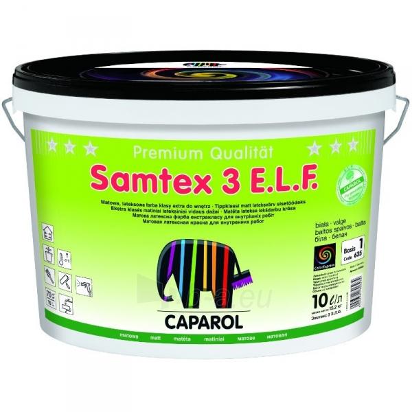 Dažai CAPAROL SAMTEX 3 2.5l Paveikslėlis 1 iš 1 310820016272