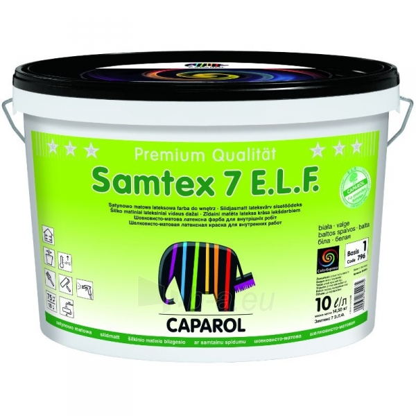 Dažai CAPAROL SAMTEX 7 B1 5l Paveikslėlis 1 iš 1 310820016277