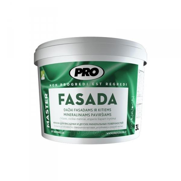 Dažai FASADA balti 3l Paveikslėlis 1 iš 1 310820005651