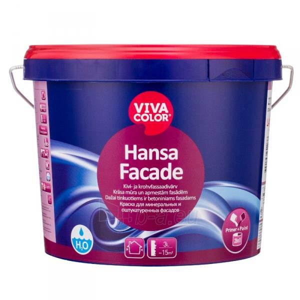 Dažai fasadams VIVACOLOR Hansa Facade LA 2.7l Paveikslėlis 1 iš 1 310820009474