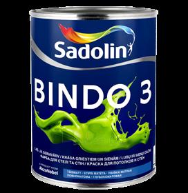 Paint latekso Bindo 3 BW matt 10ltr. Paveikslėlis 1 iš 1 236510000441